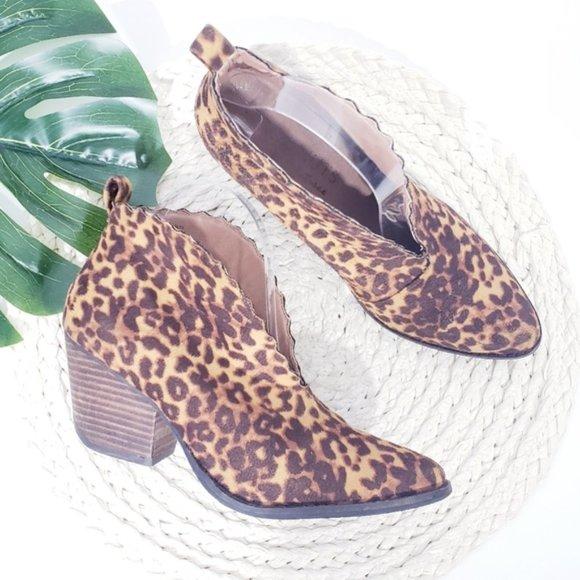 coconuts leopard booties